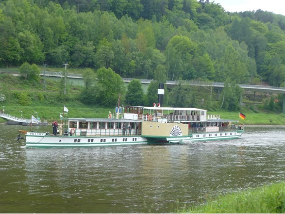 "PD ""Pillnitz"" bei Bad Schandau"