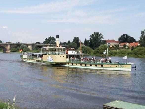 """PD """"Stadt Wehlen"""" bei Pirna"""