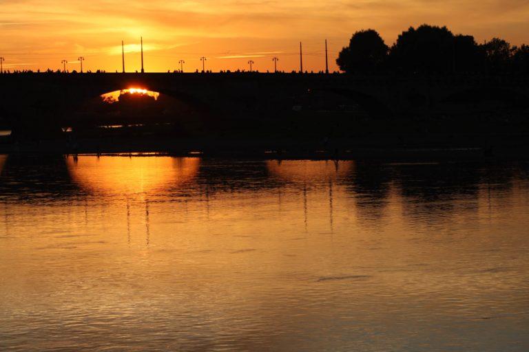 Sonnenuntergang Marienbrücke