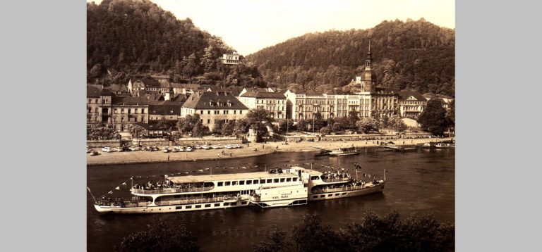 "MS ""Karl Marx"" in Bad Schandau"