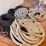 Taue, Schnüre und Kabel - Ordnung muss sein