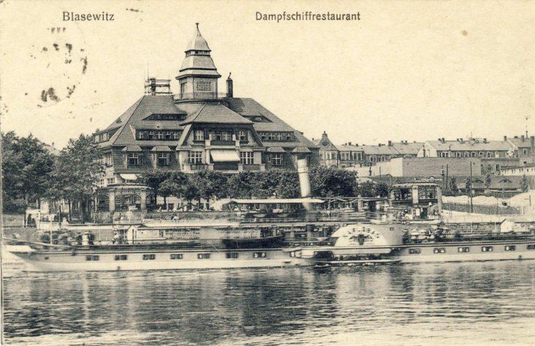 """Dresden-Blasewitz Dampfschiffrestaurant & PD """"Karlsbad"""""""