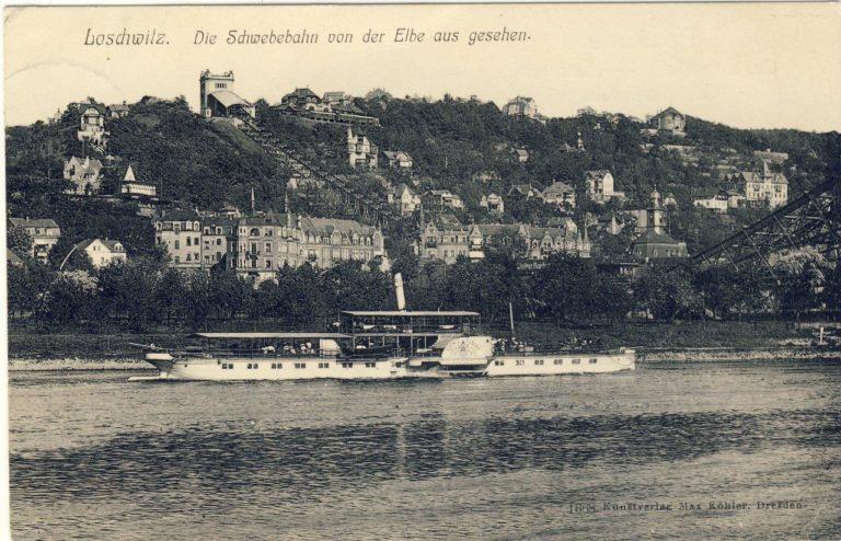 """Dresden-Loschwitz mit PD """"König Albert"""""""