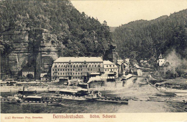 """PD """"Kaiser Wilhelm"""" & PD """"Stadt Wehlen"""" in Herrnskretschen"""