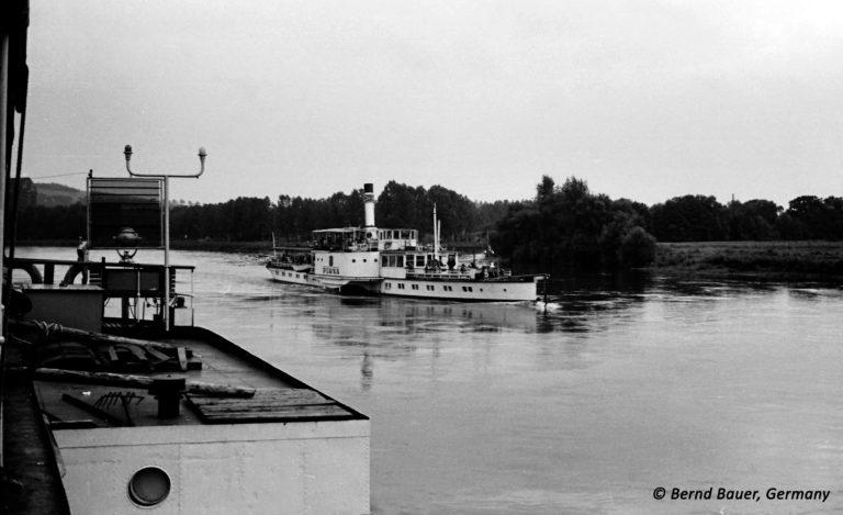 "PD ""Pirna"" auf der Elbe oberhalb Dresdens"