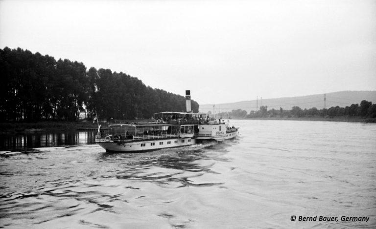 """PD """"Pirna"""" auf der Elbe bei Dresden"""