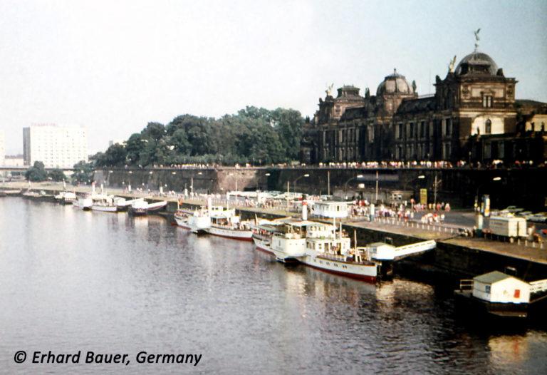 Terrassenufer Dresden 1973