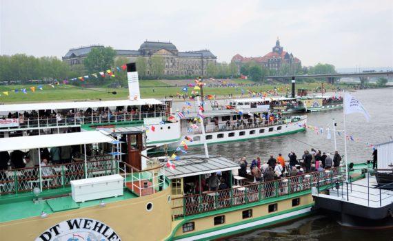 Flottenparade Dresden